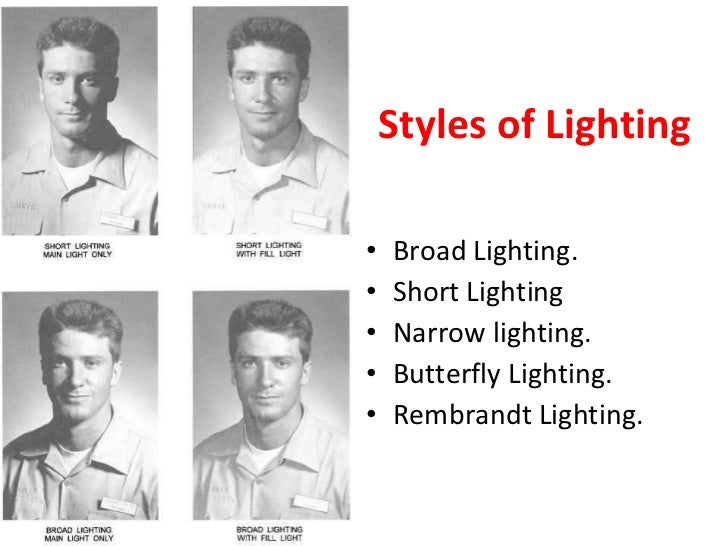 different lighting styles. different lighting styles