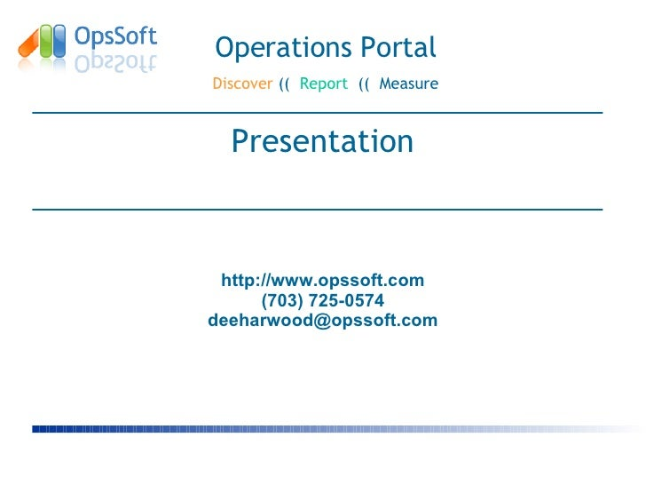 Basic Portal