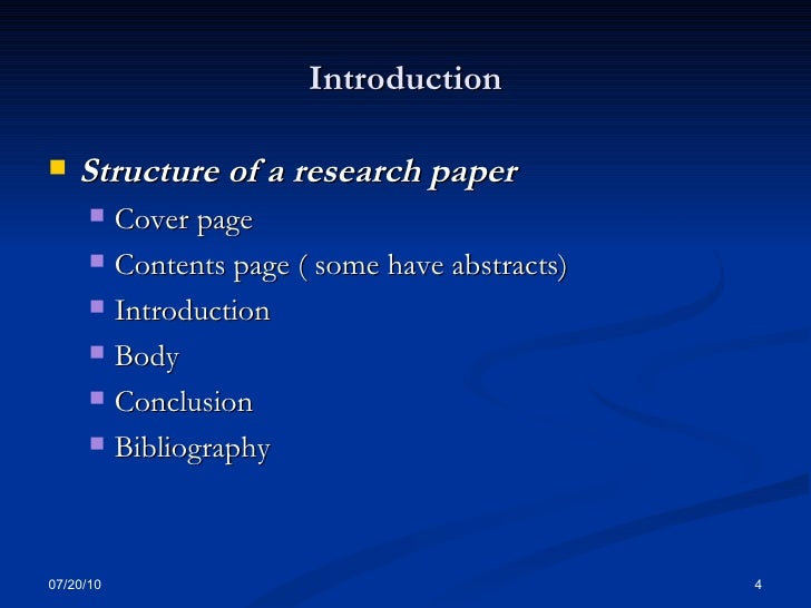 What is the correct compilation of an art history research paper?