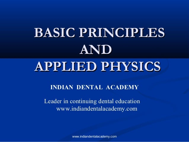 Basic science/ cosmetic dentistry training