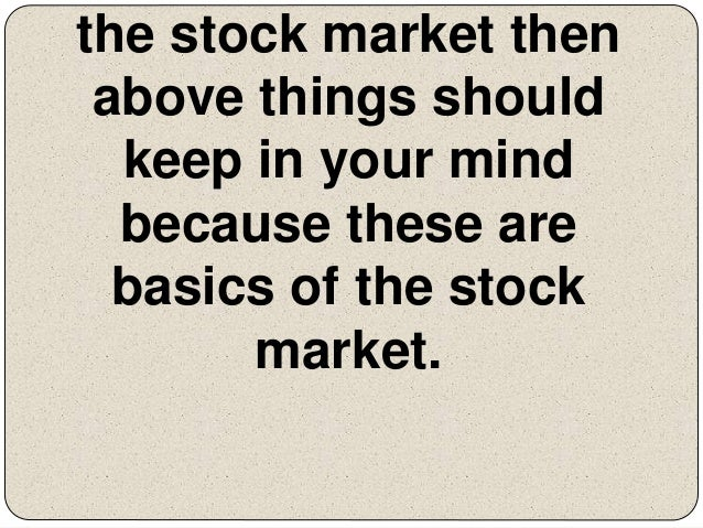 The basics of trading stock options in 7 lessons