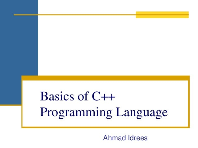 how to learn basic programming language