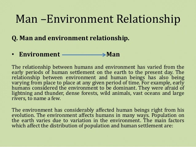 Man And His Environment Essay Free Essays On Is A Product Of Get