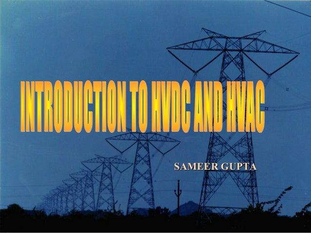 HVDC vs HVAC ppt