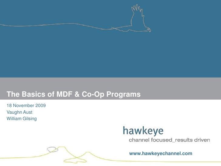 Basics of channel MDF