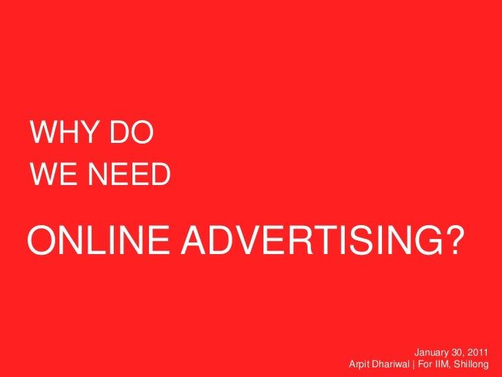 Basics Of Online Advertising