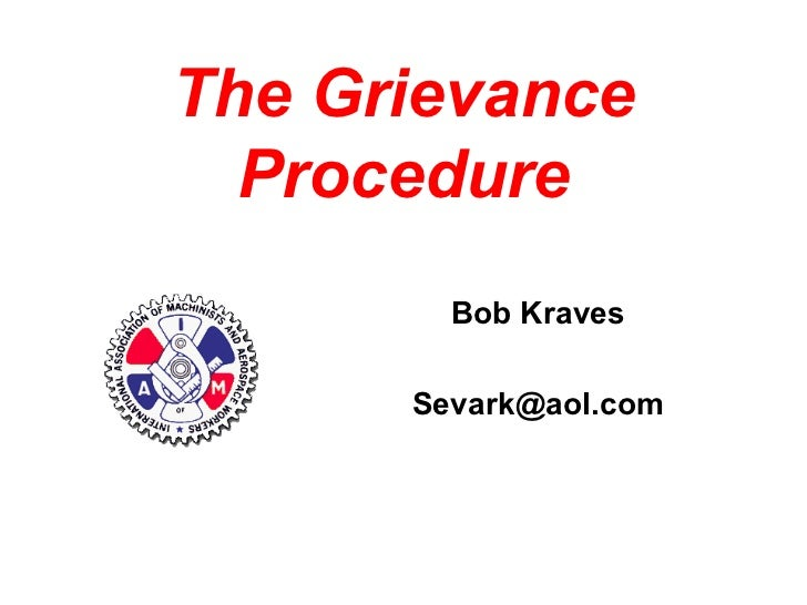 Basics of the Grievance Procedure