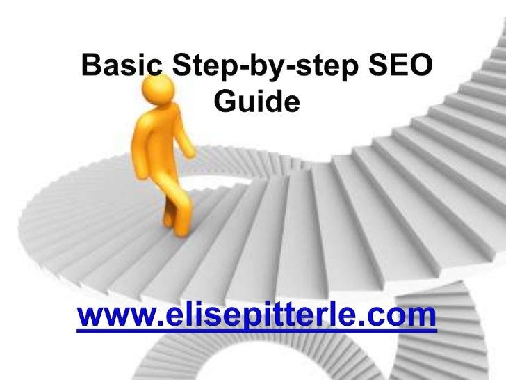 Basic step by-step seo guide