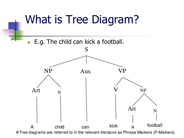 basic terms of tree diagram