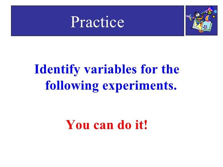 Scientific variables worksheet middle school