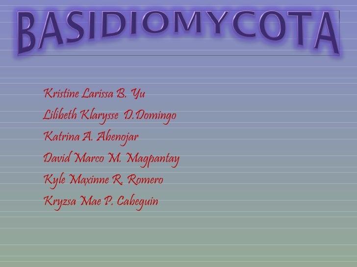 <ul><li>Kristine Larissa B. Yu </li></ul><ul><li>Lilibeth Klarysse  D.Domingo </li></ul><ul><li>Katrina A. Abenojar </li><...