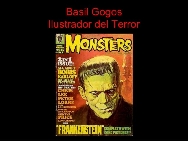 Basil Gogos Ilustrador del Terror