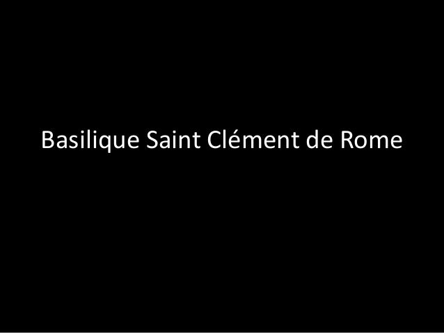 Basilique Saint Clément de Rome