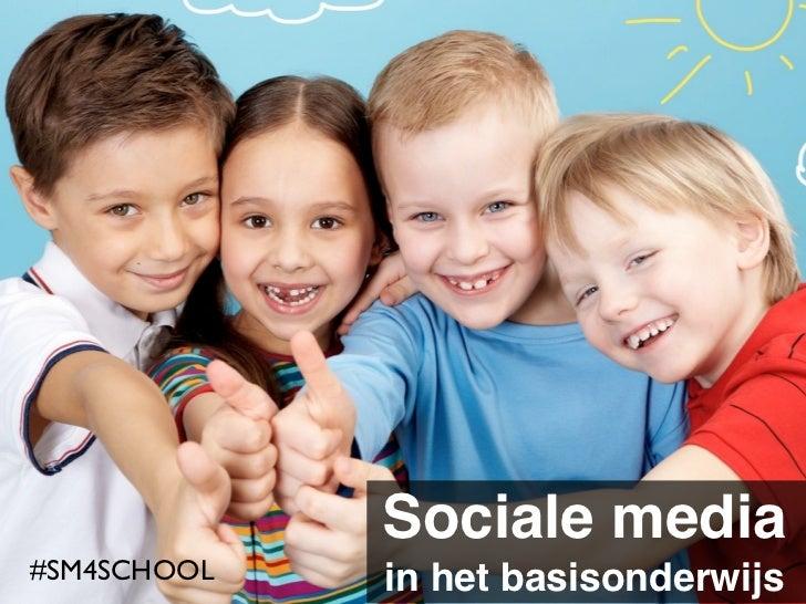 Mediawijs in het basisonderwijs. Sociale media voor leerkrachten.
