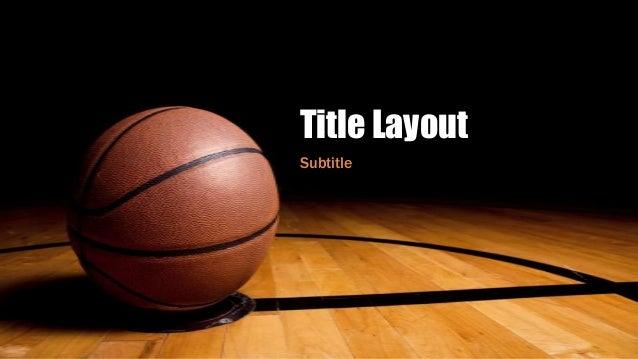 Title Layout Subtitle