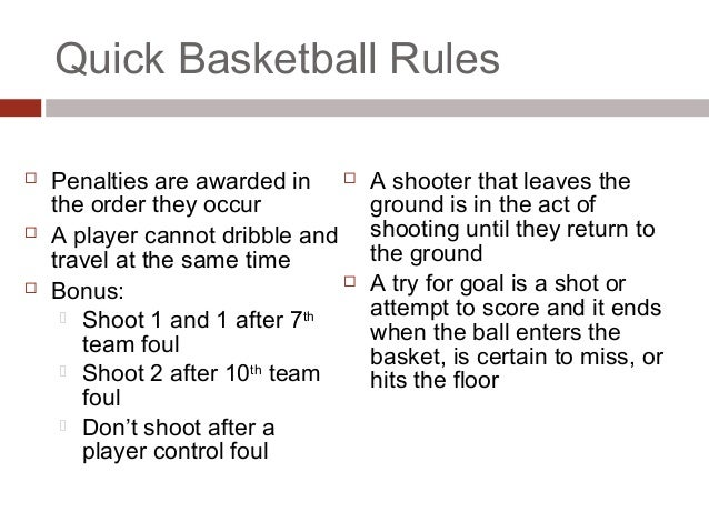 basketball and basic rules Learn the basic rules of baseball and softball, what the field looks like, positions and the equipment needed to play.