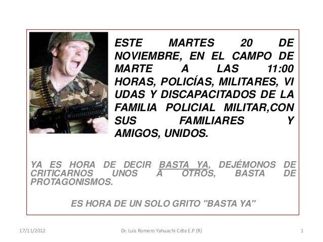 ESTE     MARTES      20    DE                     NOVIEMBRE, EN EL CAMPO DE                     MARTE      A     LAS     1...
