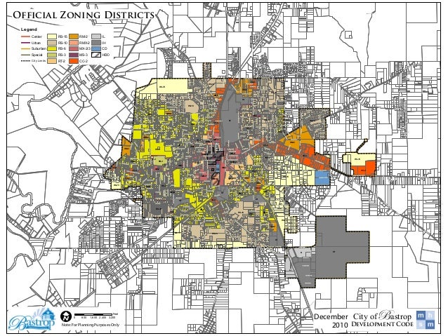 Bastrop official zoning districts   final