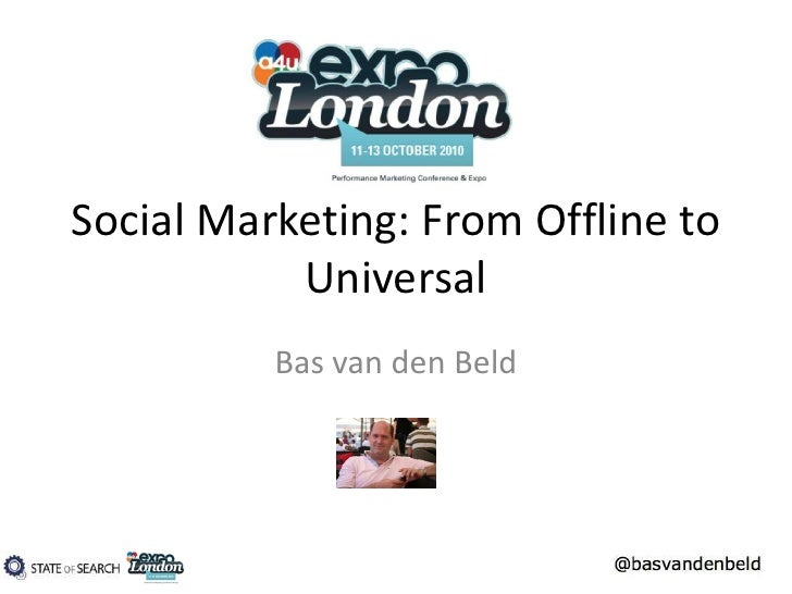 Social Marketing: from offline to Universal Search