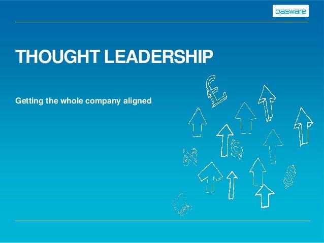 Basware Steve Muddiman: Thought Leadership 22.01.2014