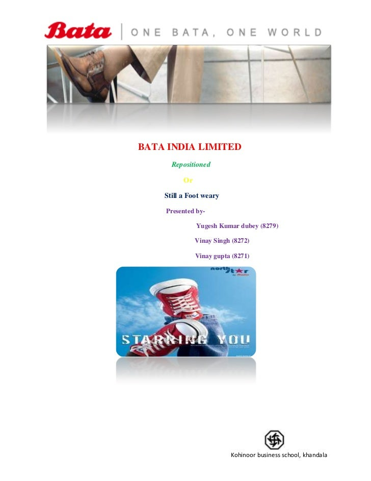 BATA INDIA LIMITED<br />      Repositioned <br />                                                                    ...