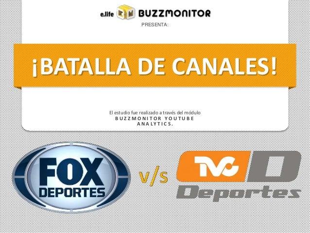 Batalla de Canales - FOX vs TVC