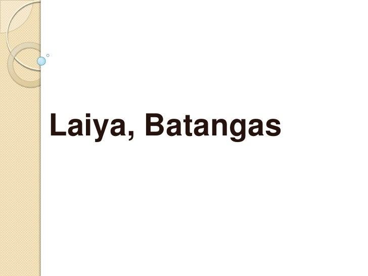 Laiya, Batangas<br />