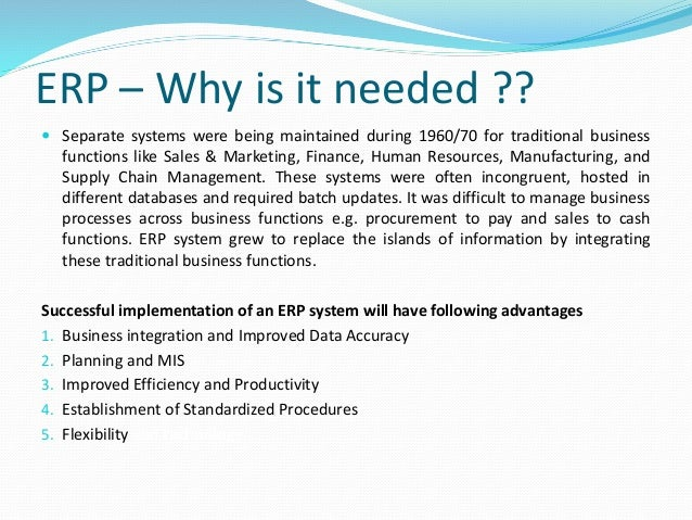 (PDF) Project management: a case study of a successful ERP ...