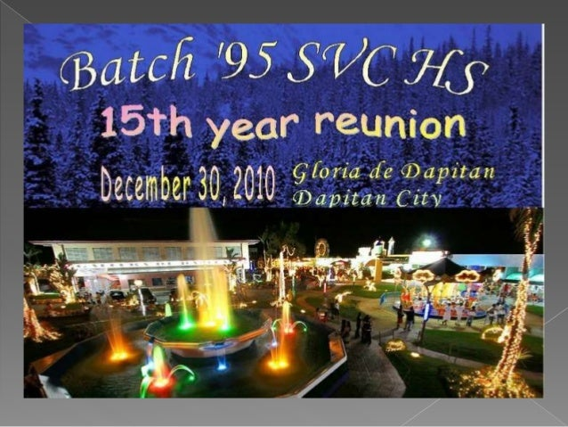SVC H.S. Batch '95 Reunion