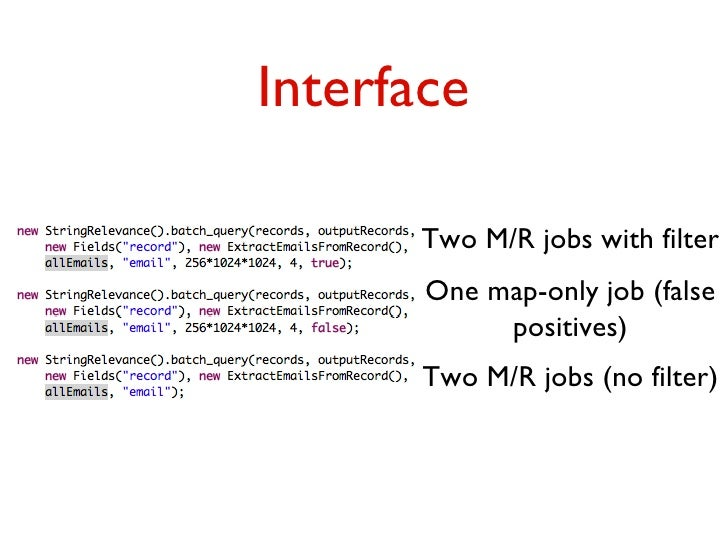 Interface Two MR jobs with R Batch Jobs