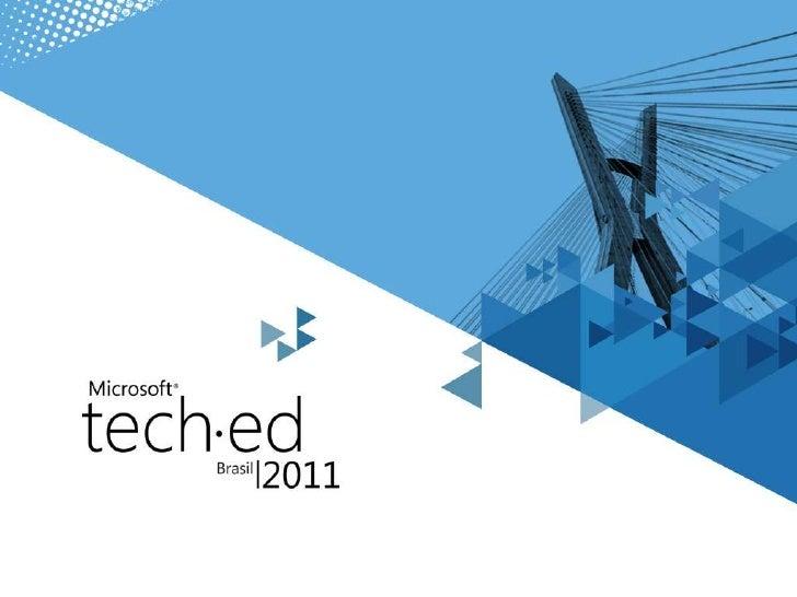 Bate papo com a comunidade - teched brasil 2011