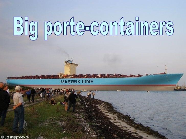 Big porte-containers