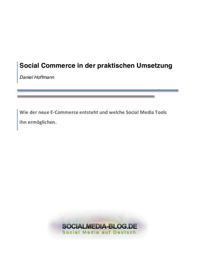 Social Commerce in der praktischen Umsetzung