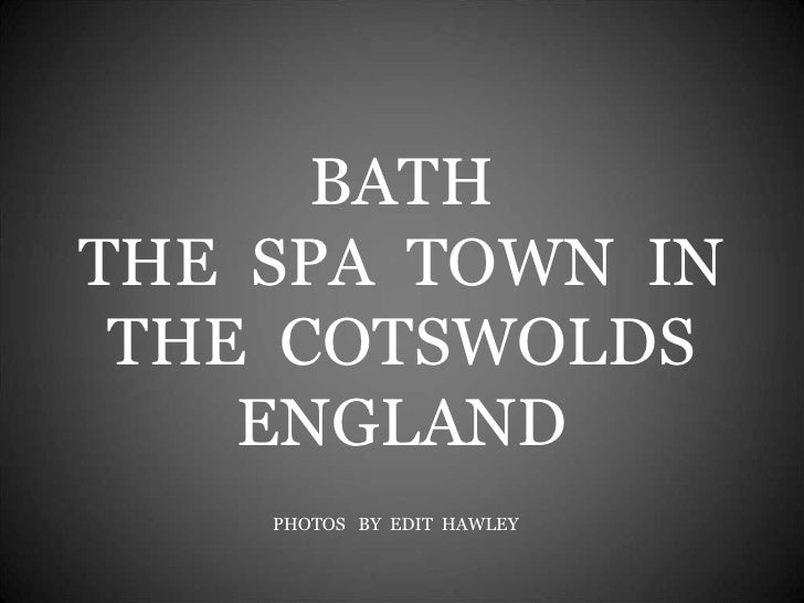 Bath In The Cotswolds