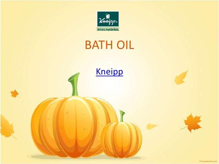BATH OIL<br />Kneipp<br />