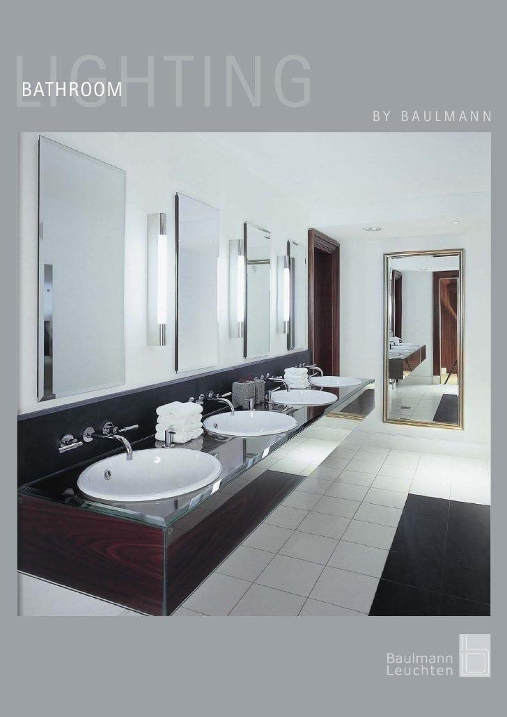 LIGHTING BATHROOM            BY BAULMANN