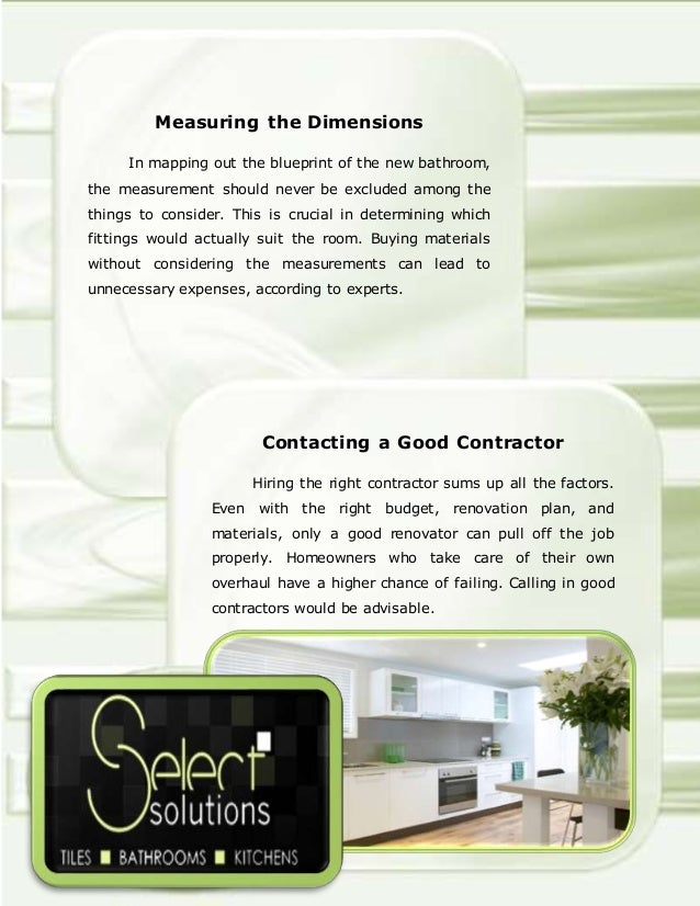 Bathroom Renovation Checklist Tips Rukinet – Bathroom Renovation Checklist