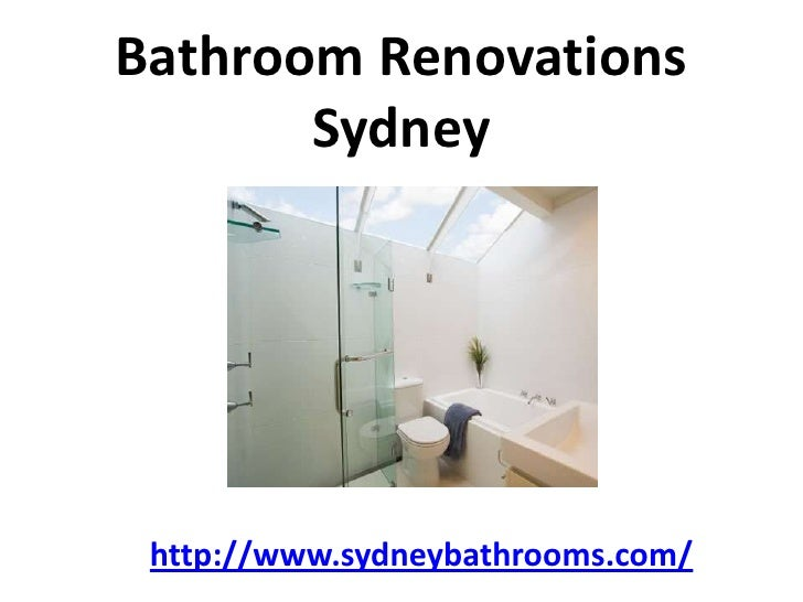 Bathroom Renovations       Sydney http://www.sydneybathrooms.com/