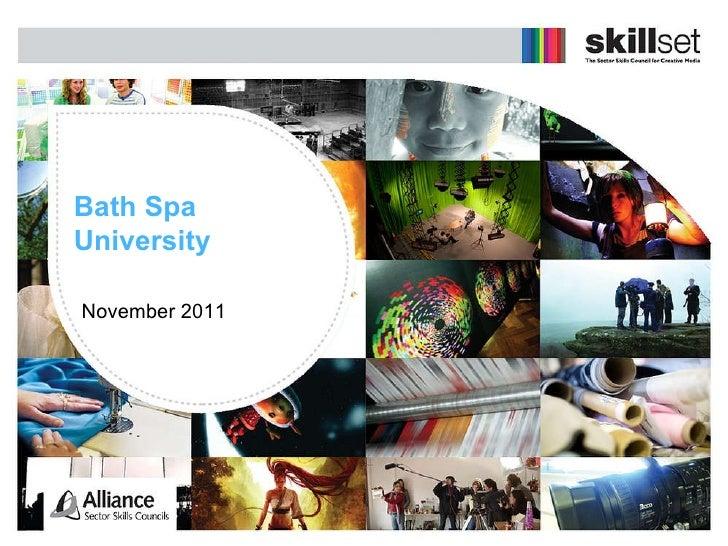 Bath Spa University November 2011