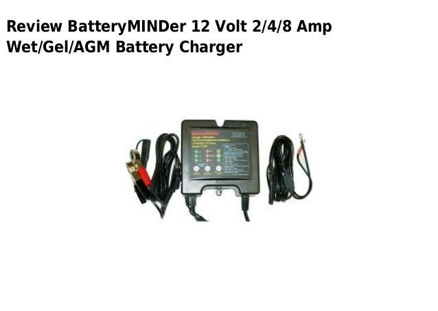 Battery min der 12 volt 2 4 8 amp wet gel agm battery charger