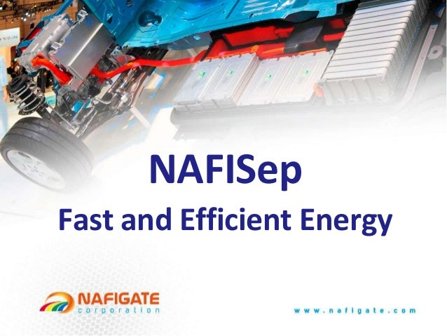 Battery polymer separator membrane - NafiSep - updated