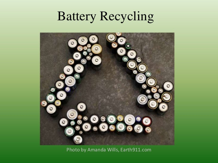 Community Project: Battery recycling