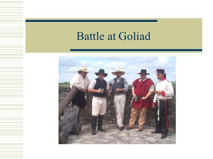 Battle at Goliad