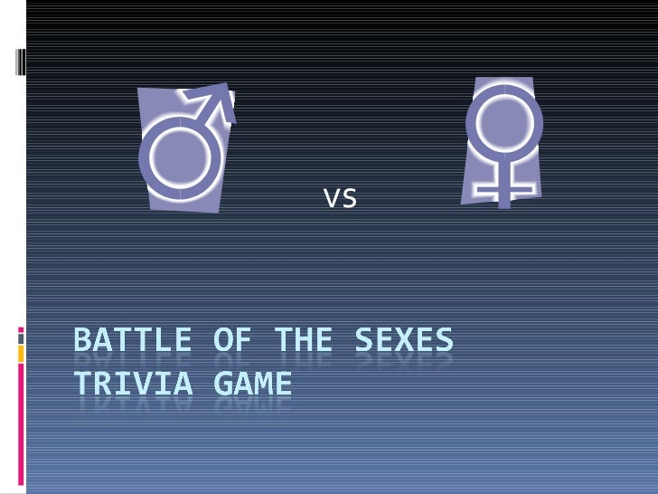 Battle of-the-sexes
