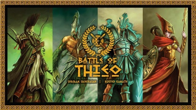Battle Of Theoi - Board Game Design & Marketing Presentation