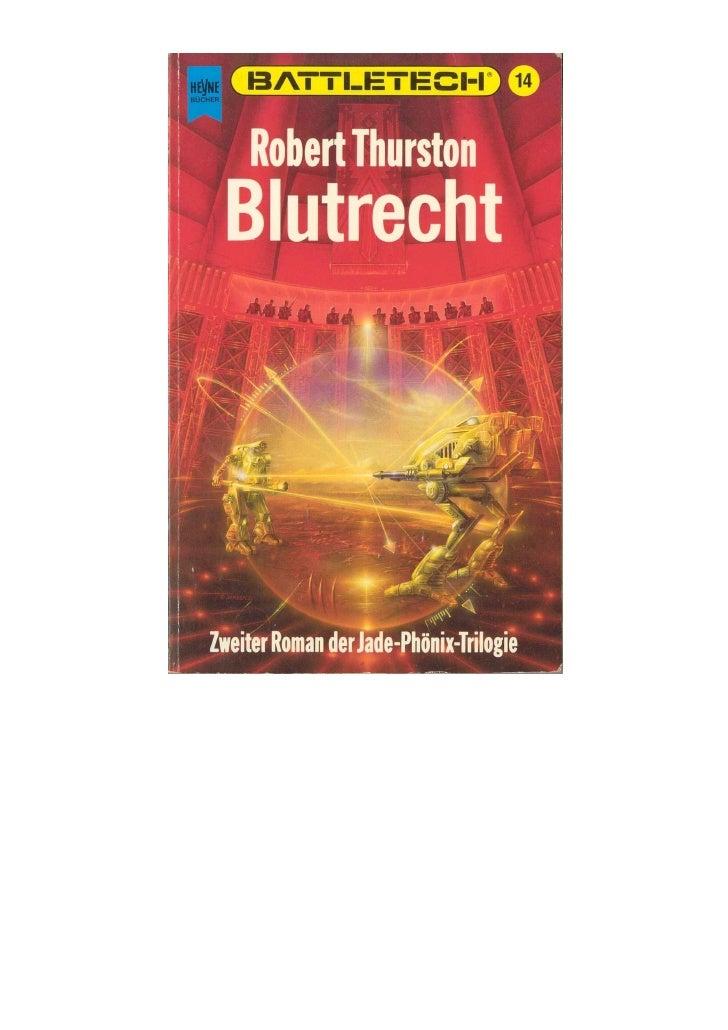 Battle tech 14   jade phoenix-trilogie ii - blutrecht