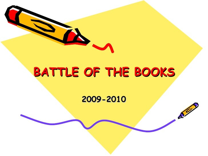 BATTLE OF THE BOOKS 2009-2010