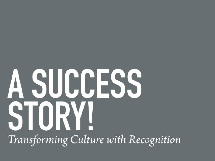 Transforming Culture with Employee Recognition