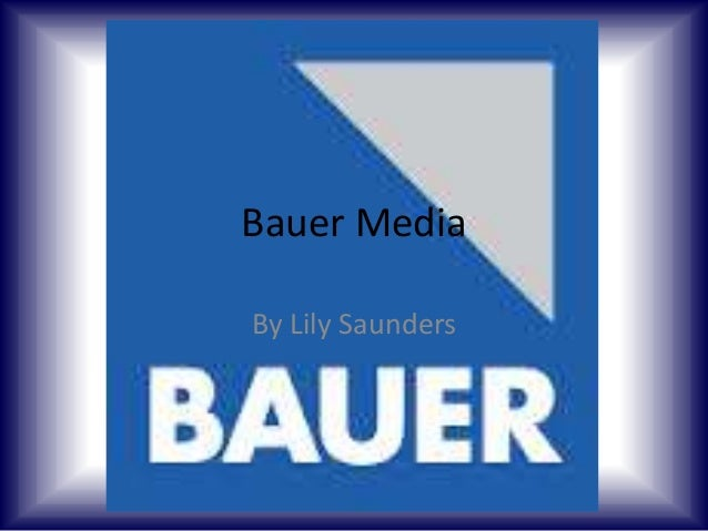 Bauer Media By Lily Saunders