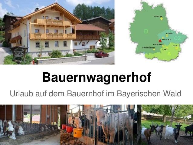 Bauernwagnerhof Urlaub auf dem Bauernhof im Bayerischen Wald